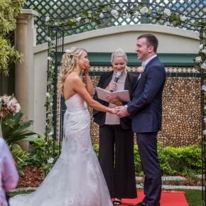 Brisbane garden wedding