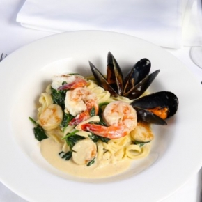 Restaurant Page Seafood Pasta