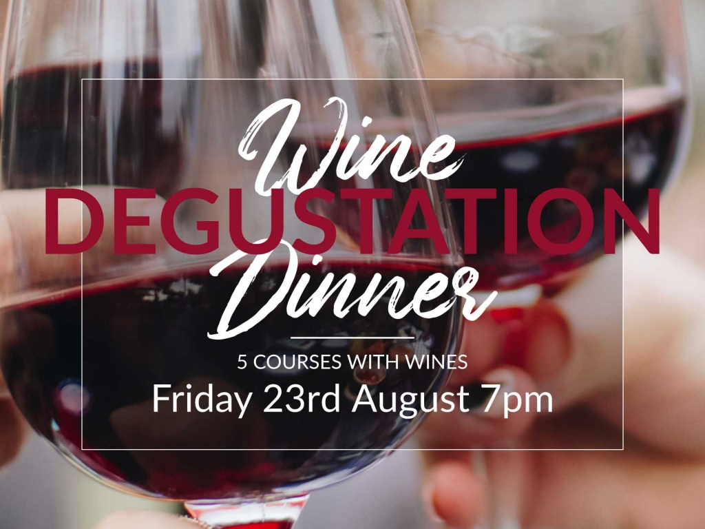 5 Course Wine Degustation Dining Experience